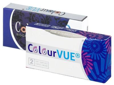 Barna ColourVUE 3 Tones kontaktlencse - dioptria nélkül (2db lencse)