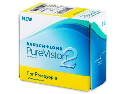 Purevision 2 for Presbyopia (6 db lencse)