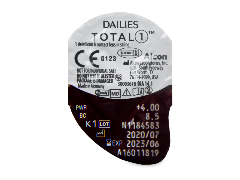 Dailies TOTAL1 (30 db lencse)