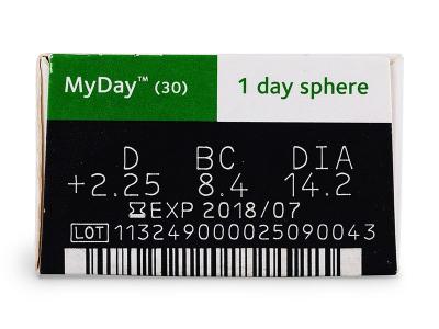 MyDay daily disposable (30db lencse)