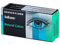Barna India SofLens Natural Colors kontaktlencse - dioptriás (2 db lencse)