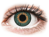 alensa.hu - Kontaktlencsék - Vízkék Aqua Expressions Colors kontaktlencse - dioptriával