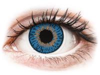 alensa.hu - Kontaktlencsék - Sötétkék Expressions Colors kontaktlencse - dioptria nélkül