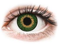 alensa.hu - Kontaktlencsék - Zöld Expressions Colors kontaktlencse - dioptriával