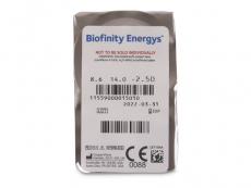 Biofinity Energys (3 lencse)