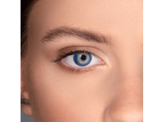 Kék FreshLook ColorBlends kontaktlencse - dioptria nélkül (2 db lencse)