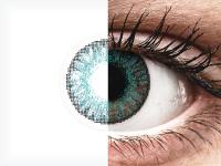 Brilliáns kék FreshLook ColorBlends kontaktlencse - dioptriával (2 db lencse)