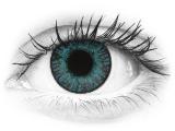 Brilliáns kék FreshLook ColorBlends kontaktlencse - dioptria nélkül (2 db lencse)