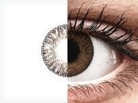 Barna FreshLook ColorBlends kontaktlencse - dioptriával (2 db lencse)