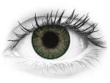 Drágakő zöld FreshLook ColorBlends kontaktlencse - dioptriával (2 db lencse)
