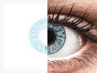Kék FreshLook Colors kontaktlencse - dioptriával (2 db lencse)