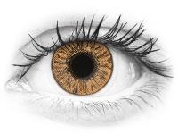 Mogyorószínű FreshLook Colors kontaktlencse - dioptriával (2 db lencse)