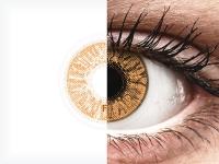 Mogyorószínű FreshLook Colors kontaktlencse - dioptria nélkül (2 db lencse)