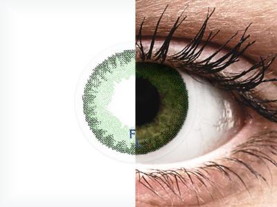 Tengerzöld Freshlook Dimensions kontaktlencse - dioptria nélkül (2 db lencse)