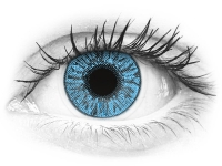 Zafírkék Freshlook Colors kontaktlencse  - dioptria nélkül (2 db lencse)