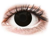 alensa.hu - Kontaktlencsék - Fekete Blackout ColourVUE Crazy Lens napi lencsék - dioptria nélkül