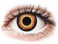 alensa.hu - Kontaktlencsék - Narancssárga Werewolf ColourVUE Crazy Lens napi lencsék - dioptria nélkül