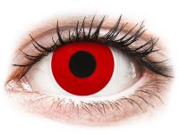 alensa.hu - Kontaktlencsék - Piros Red Devil ColourVUE Crazy Lens napi lencsék - dioptria nélkül