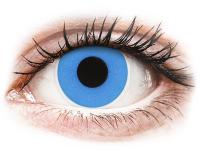 alensa.hu - Kontaktlencsék - Kék Sky Blue ColourVUE Crazy Lens napi lencsék - dioptria nélkül