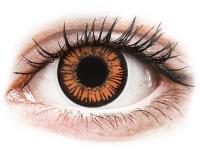 alensa.hu - Kontaktlencsék - Narancssárga Twilight ColourVUE Crazy Lens napi lencsék - dioptria nélkül