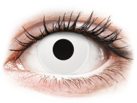 alensa.hu - Kontaktlencsék - Fehér Whiteout ColourVUE Crazy Lens napi lencsék - dioptria nélkül