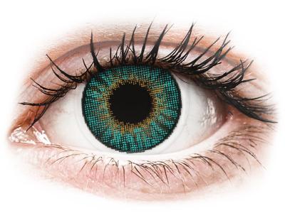 Air Optix Colors - Turquoise - dioptria nélkül (2 lencse)