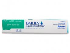 Dailies AquaComfort Plus Toric (90db lencse)