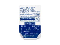 Acuvue Oasys 1-Day with HydraLuxe for Astigmatism (30 db lencse)