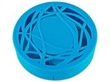 alensa.hu - Kontaktlencsék - Lencse tartó tükörrel - kék díszítéssel