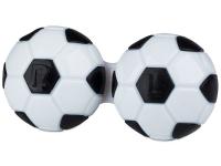 alensa.hu - Kontaktlencsék - Futball-labda formájú lencse tartó- fekete