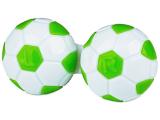 Futball-labda formájú lencse tartó  - zöld