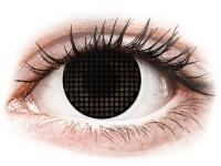 alensa.hu - Kontaktlencsék - Black Screen fekete ColourVUE Crazy Lens kontaktlencse - dioptria nélkül