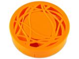 alensa.hu - Kontaktlencsék - Lencse tartó tükörrel- narancs színű díszítéssel