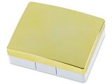 alensa.hu - Kontaktlencsék - Elegáns lencse tartó tükörrel - sárga színű