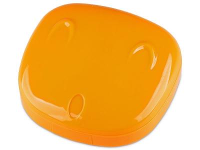 Lencse tartó tükörrel - Face - narancs színű