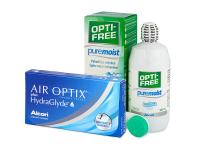 alensa.hu - Kontaktlencsék - Air Optix plus HydraGlyde (3 db lencse)