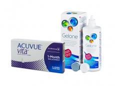 Acuvue Vita (6 db lencse) + 360 ml Gelone ápolószer