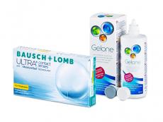 Bausch + Lomb ULTRA for Presbyopia (6 db lencse) + 360 ml Gelone ápolószer