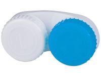 alensa.hu - Kontaktlencsék - Kék-fehér színű kontaktlencse tartó L+R