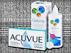 Acuvue Oasys with Transitions (6 db lencse) + Gelone 360 ml-es ápolószer