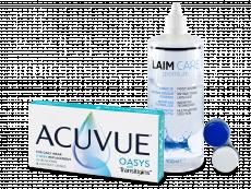 Acuvue Oasys with Transitions (6 db lencse) + Laim-Care 400 ml-es ápolószer
