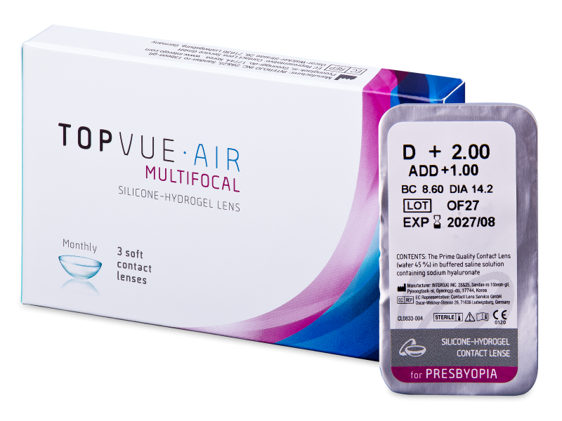 TopVue Air Multifocal (1 db lencse)