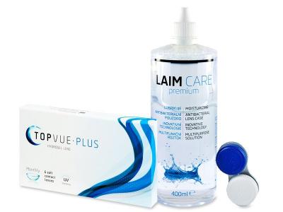 TopVue Monthly Plus (6 db lencse) + LAIM-CAREápolószer 400ml