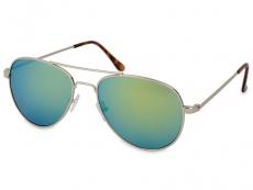 Silver Pilot napszemüveg - Kék/Zöld
