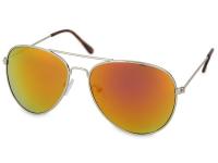 alensa.hu - Kontaktlencsék - Silver Pilot napszemüveg Pink/Narancs