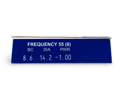 Frequency 55 (6db lencse)