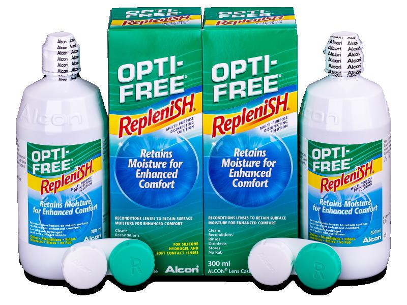 OPTI-FREE RepleniSH kontaktlencse folyadék 2x300ml