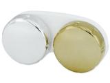 Kontaktlencse tok tükrözött kivitelben - arany/ezüst