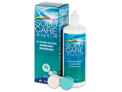 SoloCare Aqua kontaktlencse folyadék 360ml