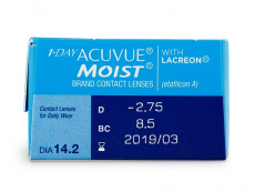 1 Day Acuvue Moist (30 db lencse)